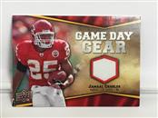 2009 UPPER DECK  JAMAAL CHARLES GAME DAY GEAR NFL-JC